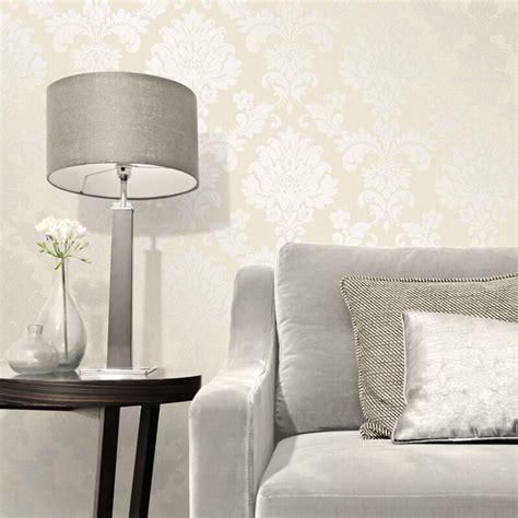 glitter home decor fine decor quartz damask gold glitter wallpaper fd41970