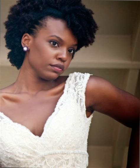 bridal hairstyles natural hair african naturalistas natural hairstyles to inspire brides