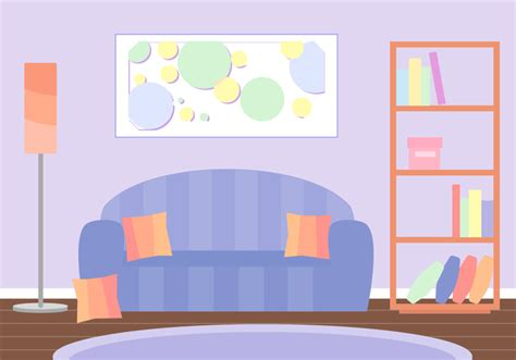 Colorful Armchair Free Living Room Vector Download Free Vector Art Stock