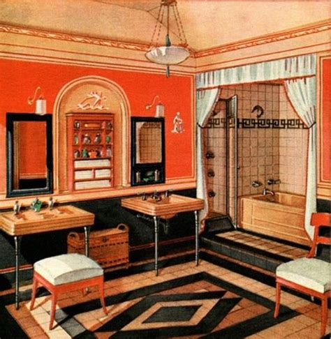 deco interiors 1000 ideas about 1920s interior design on homes bungalow bathroom and