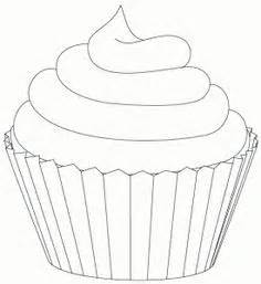 mini cupcake coloring page 1000 images about images to color food household