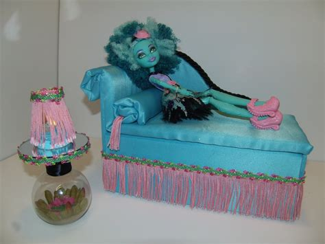 monster high doll beds furniture for monster high dolls handmade chaise lounge bed