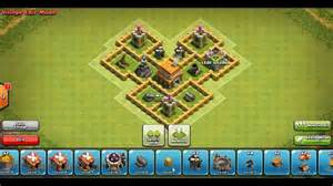 Best clash of clans th5 trophy base dragons head new 2015 youtube