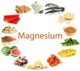 magnesio funcion alimentos  suplementos vidanaturalia
