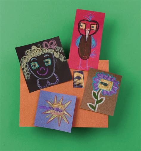 mystery crafts for what s the mystery picture craft crayola