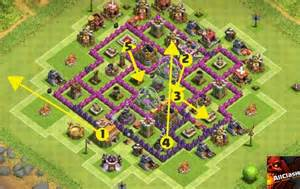 Clans weekly base analysis part 15 town hall 5 farming base layout jpg