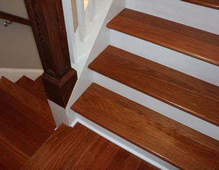Brazilian Cherry Stair Treads
