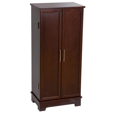 mele co jewelry armoire mele co lynwood jewelry armoire with mirror reviews wayfair