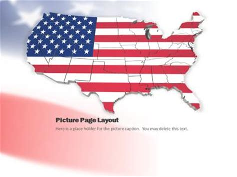 usa template powerpoint metlic info