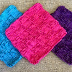 knitted basket weave dishcloth pattern 27 knits you can t up easy knitting patterns for