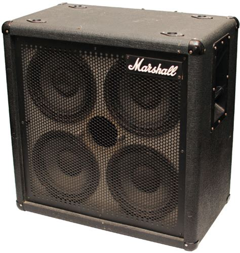 Marshall 4x10 Cabinet by Marshall 1540 4x10 Bass Cab Pre Owned
