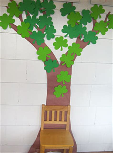 new year lucky tree craft craft a shamrock tree we stuff