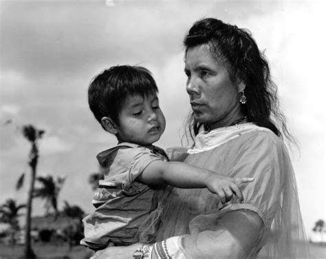 Osceola Court Search Florida Memory Seminole Maggie Osceola With Child Curtis Osceola