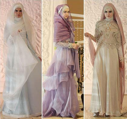 Kebaya Pengantin Modern Muslimah inilah baju pengantin muslimah syar i yang disarankan