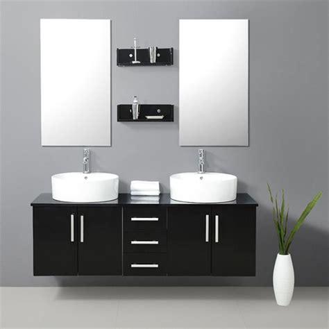 Merveilleux Faience Noire Salle De Bain #4: faience-salle-de-bain-blanche-et-noire.jpg
