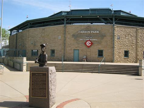 Of Wisconsin Eau Mba Cost by Carson Park Baseball Stadium