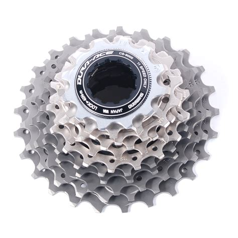 dura ace 11 speed cassette shimano dura ace cs 9000 road cassette 11 speed 12 25t ebay