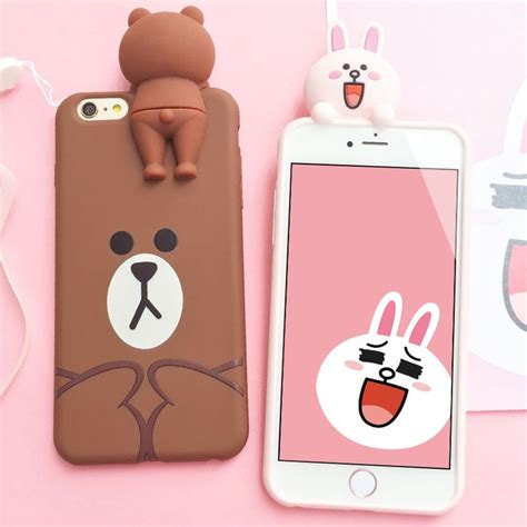 Bumper Tpu 3d Line Brown Cony Soft Cover Casing Samsung Galaxy J3 360 best line family images on friends wallpaper brownies and brown bears