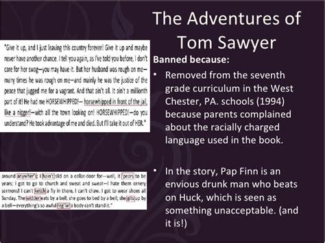 the adventures of tartanscot quot mark d sikes in veranda mark twain banned books