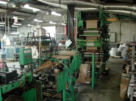 Paper Bag Machine - flat and satchel paper bag machine holweg cp2 ts