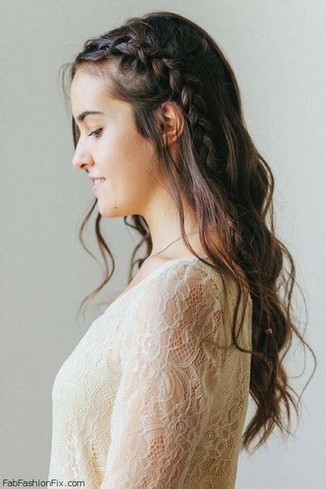one side braid hairstyles one side braid hairstyles