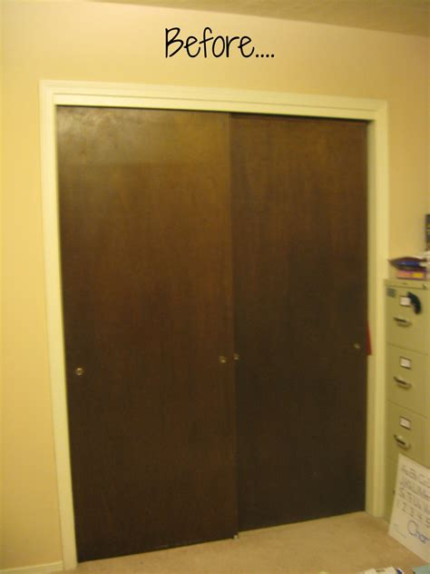 No Closet Doors Closet Door Makeover