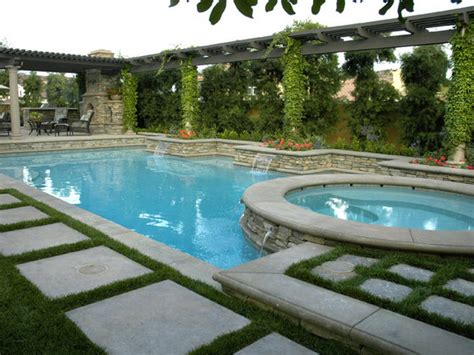 tuscan inspired backyards swimming pool water feature ideas car interior design