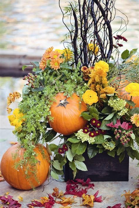 pumpkin wedding centerpieces happy themed wedding