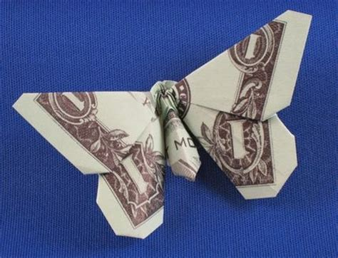 Butterfly Dollar Origami - dollar bill origami diy projects paper crafting