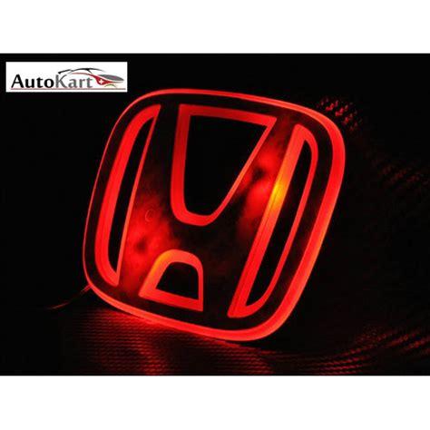 Emblem 24 Ori 1pc Superauto 2 buy autokart 3d led car emblem logo light for honda at best price in india on naaptol