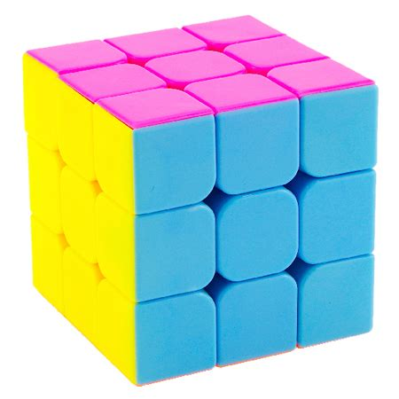 Mainan Rubik 3x3 Stickerless Yj Guanlong 3x3x3 Stickerles Asli Ori yongjun guanlong 3x3x3 stickerless magic cube pink version 3x3x3 cubezz professional puzzle