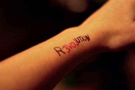 revolution tattoo ink
