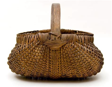 antique buttocks basket american late 19th century basket for sale