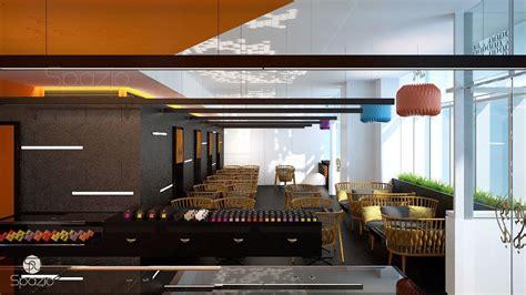 Cafe Interiors Liquifloor Makes Walking by Cafe Restaurant Interior Design In Dubai Spazio