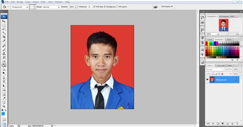 cara edit foto dengan photoshop cs5 ganti background cara mengganti background foto dengan photoshop