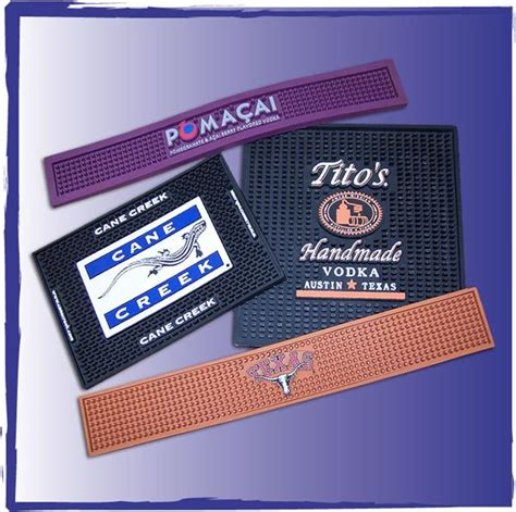 Personalized Rubber Bar Mats by Custome Rubber Bar Mats Custom Pvc Counter Bar Mats