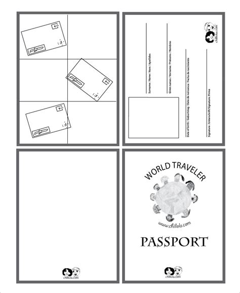 passport template 24 passport templates free pdf word psd designs