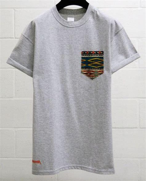 pattern pocket shirt men s aztec pattern grey pocket t shirt men s t shirt