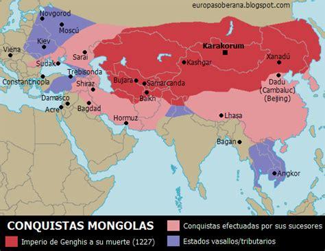 genghis khan otomano clases de ciencias sociales mapas de la baja edad media