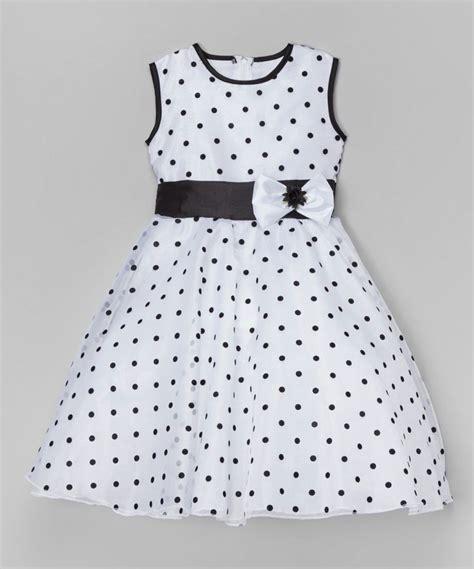 Dress Kid Ursula Polka look at this zulilyfind kid fashion white black polka dot a line dress toddler by