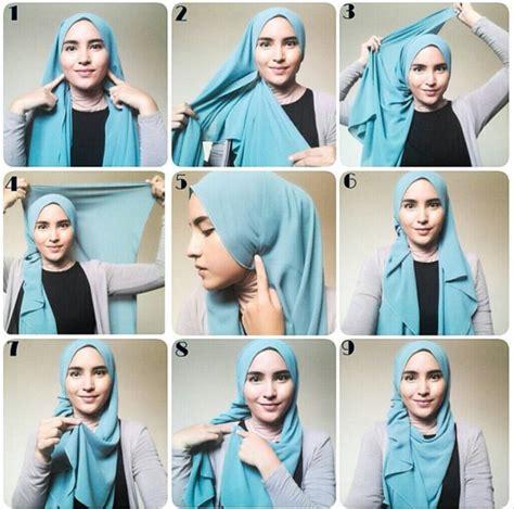 Hijabjilbab Zahara Daily Kerudung Zahara Daily 10 tutorial pashmina dari zahratul jannah