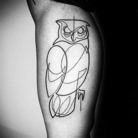 silhouette tattoos for men 50 outline tattoos for silhouette design ideas