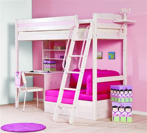 Trendy Bunk Beds Thuka Trendy 29 High Sleeper Bed With Desk And Sofa The Home And Office Stores