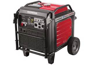 Honda Generator Eu7000is Efi Makes Honda S New Eu7000is Portable Generator More