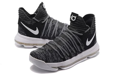 Sale Nike Rosherun High Suade Oreo 2017 Nike Kd 10 Oreo Black White For Sale Hoop
