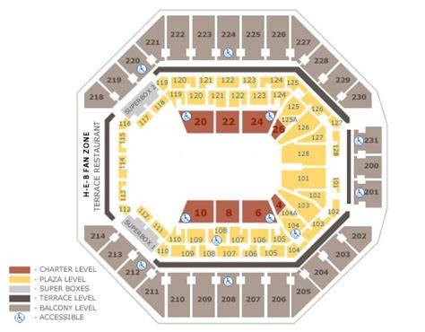 at t center floor plan at t center seating charts