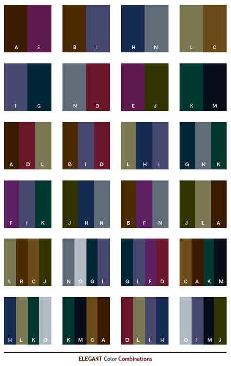 copper color combinations elegant color schemes color combinations color palettes