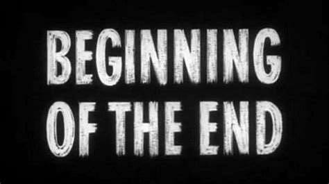 beginning of the end typotic
