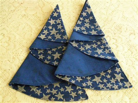 half circle christmas tree napkin pattern napkintrees