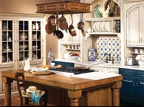 country style kitchens ideas blue cabinets in a country kitchen house furniture
